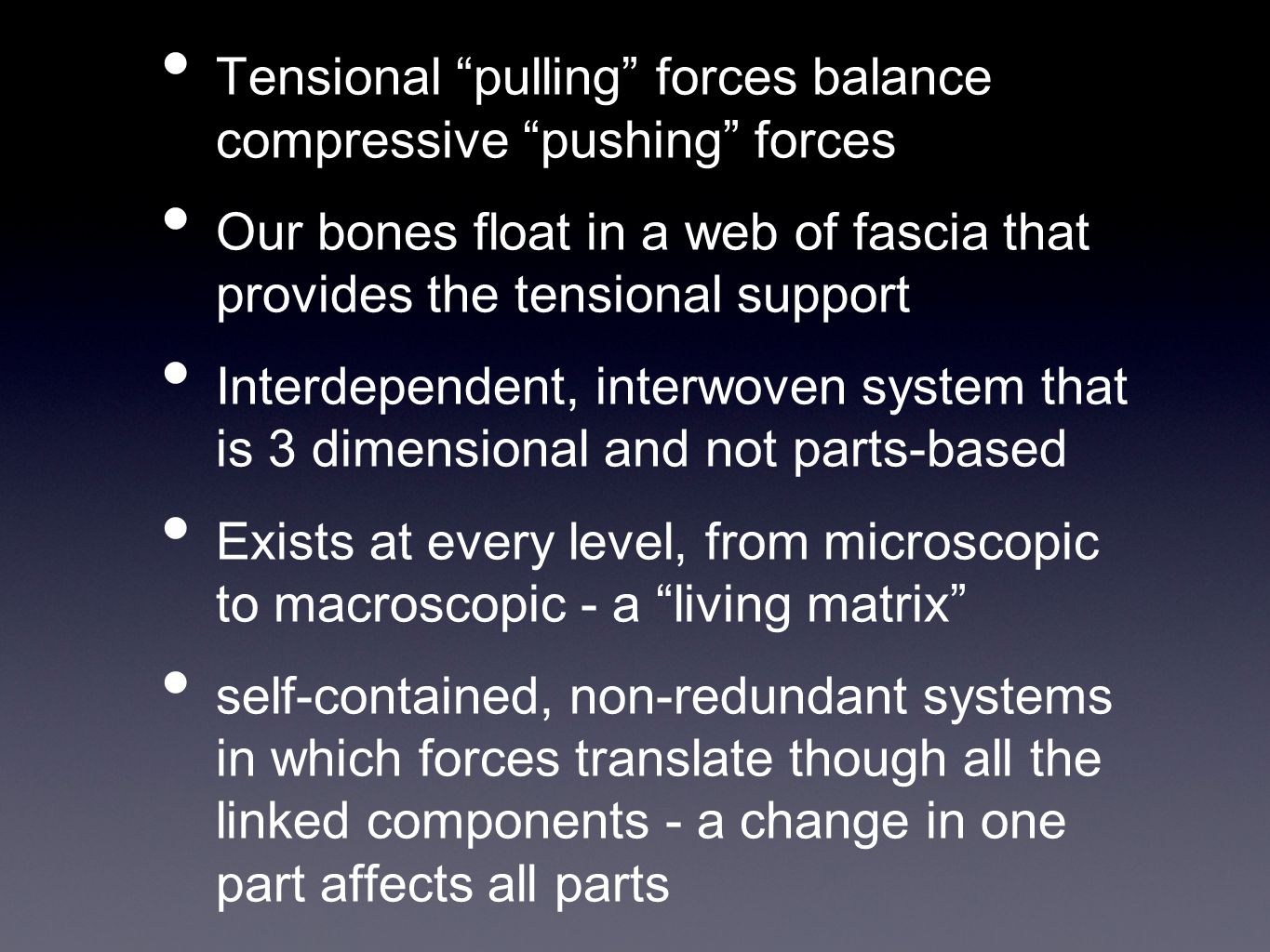 Tensegrity of the Human Body - ppt video online download