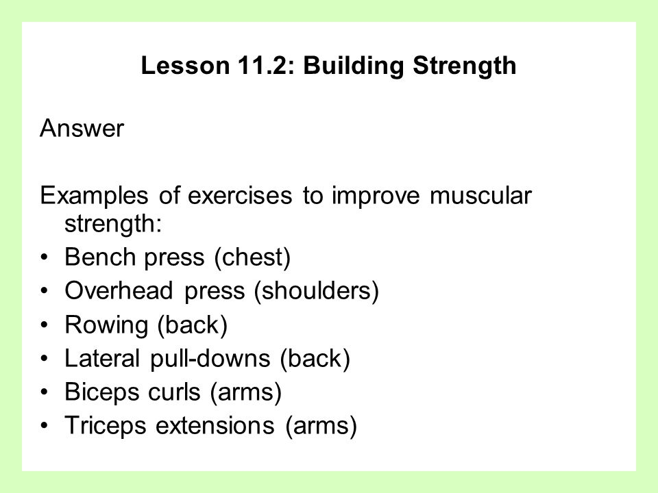 Chapter 11 Muscle Fitness Basic Principles And Strength Ppt Download