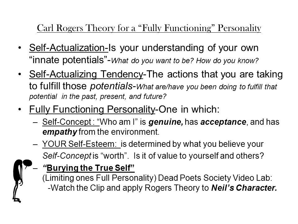self actualizing tendency