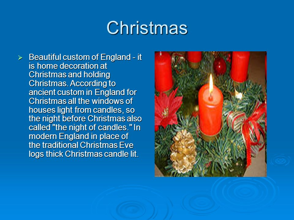Christmas In England Traditions.Customs And Traditions Of England Ppt Video Online Download