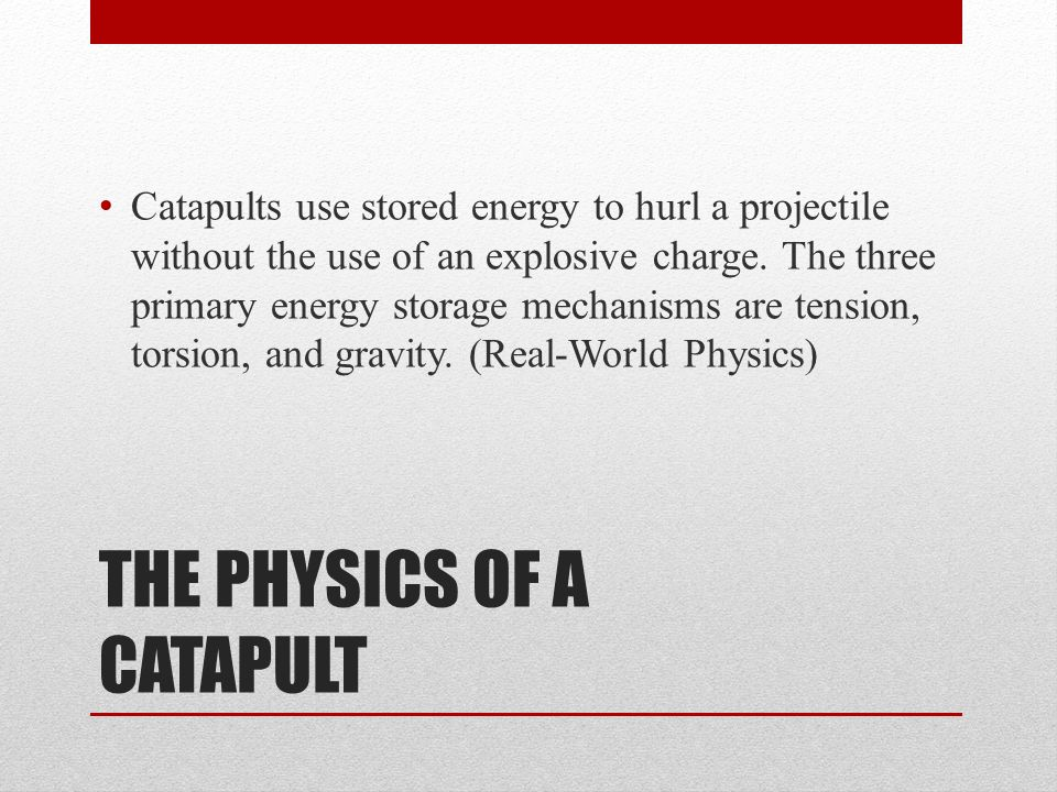 how are catapults used today Today we are going to learn all about catapults and the important math and science concepts behind them we are preparing for an activity we will get to do very soon, during which we will design and build our own catapults.
