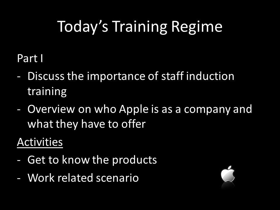 Welcome To Apple Induction Training DAY ppt video online download