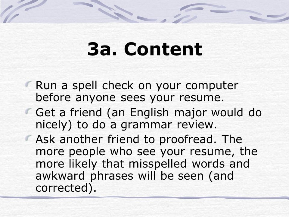 A Guide To Resume Writing Ppt Video Online Download