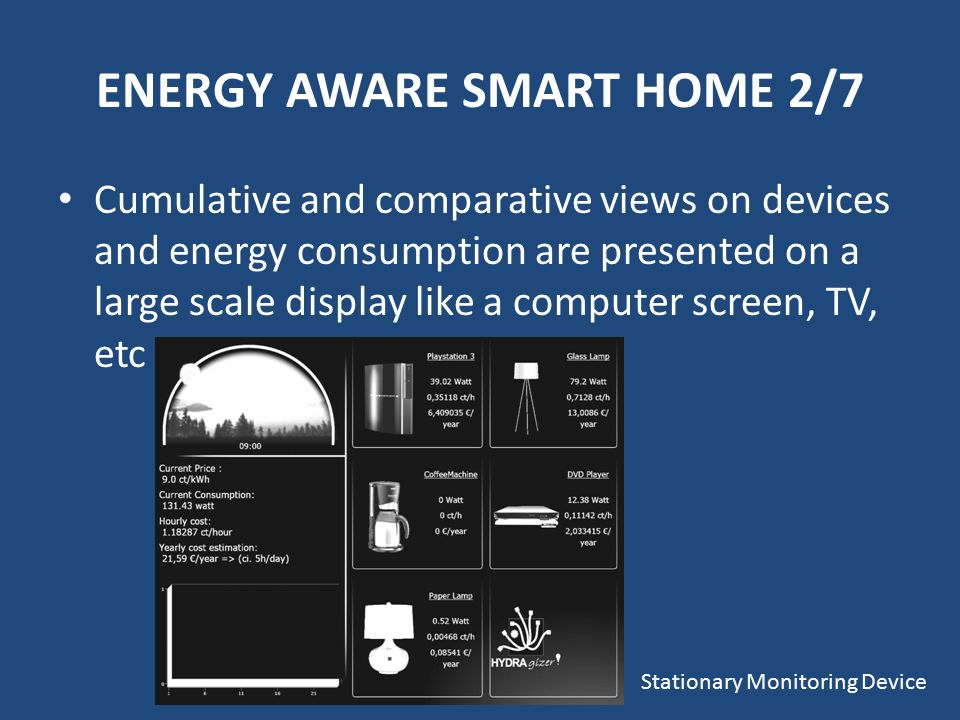 The Energy Aware Smart Home - ppt video online download