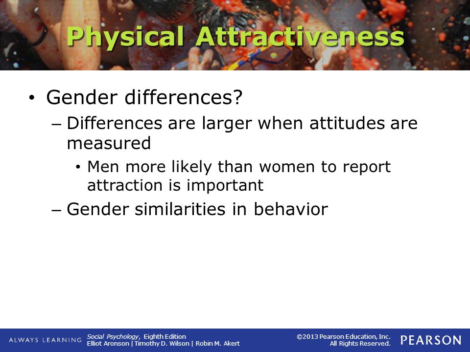 men and physical attraction
