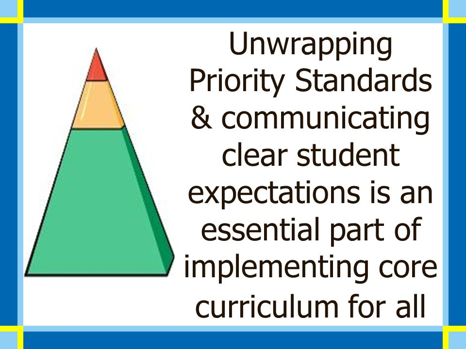Unwrapping Standards Ppt Video Online Download