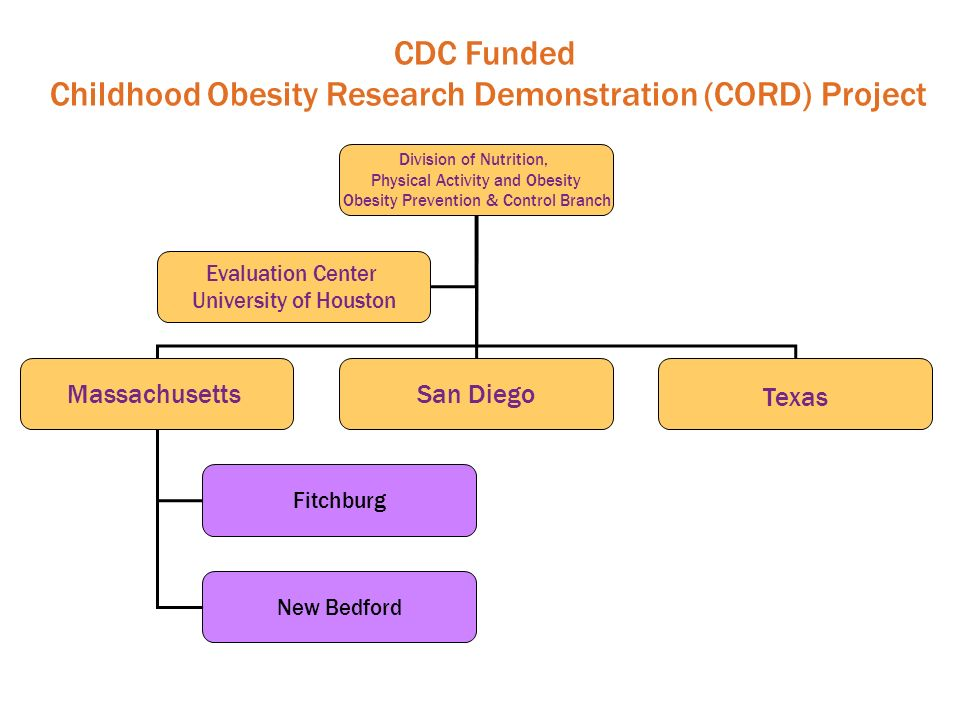 Childhood Obesity Research Demonstration (CORD) Project