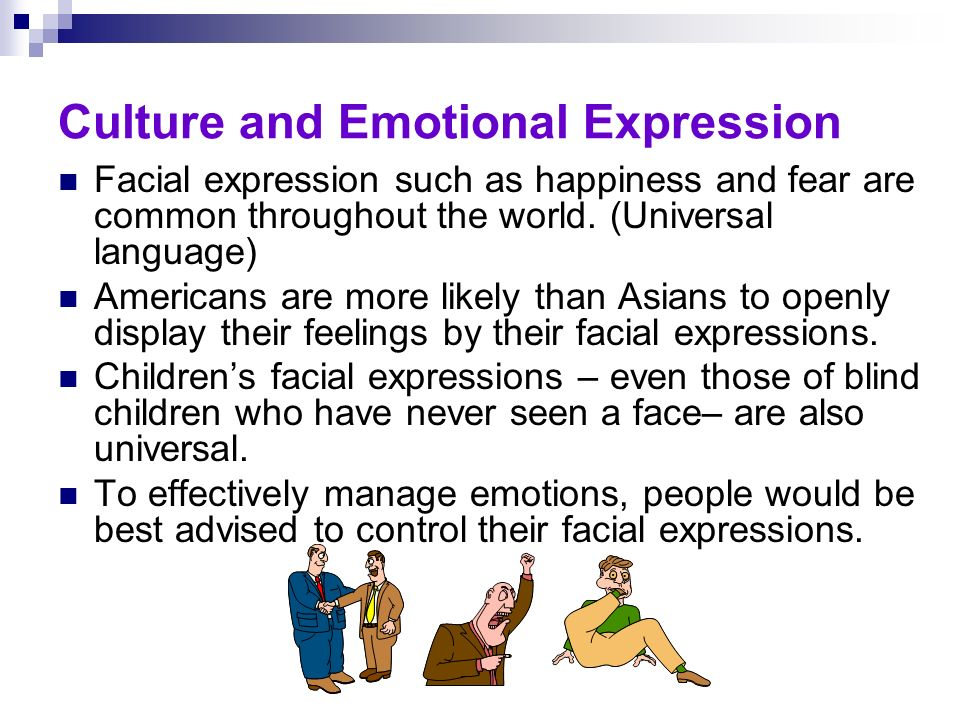 culture and emotional expression