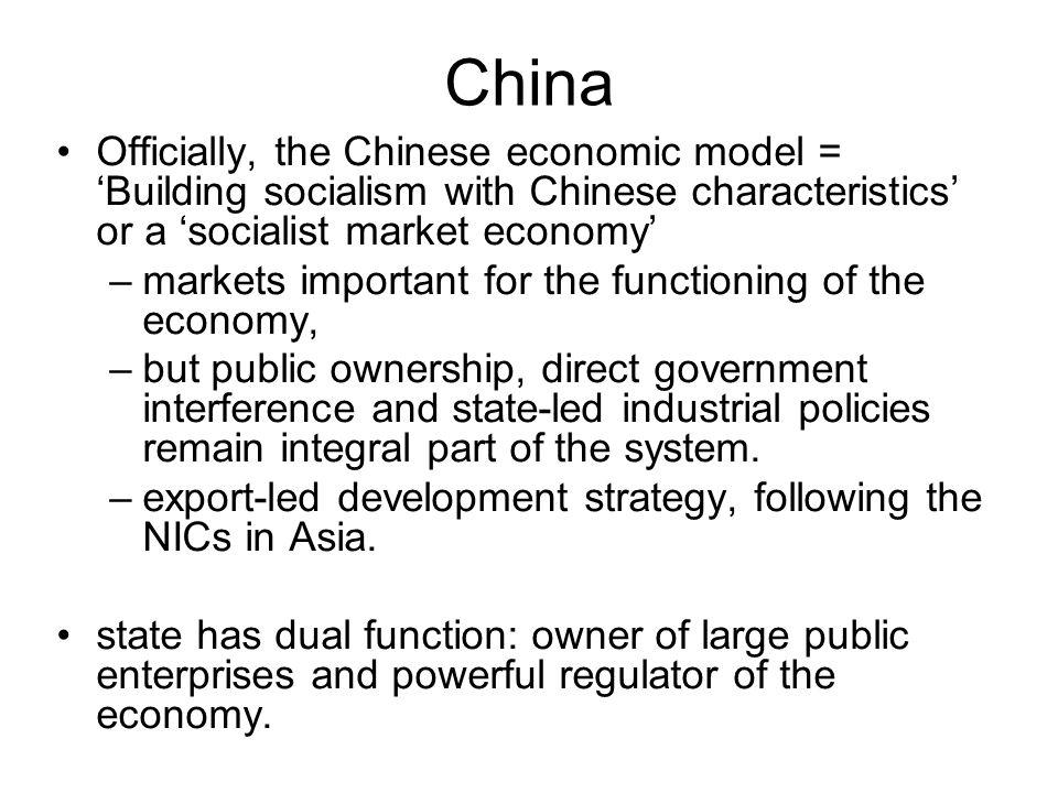 state led economy