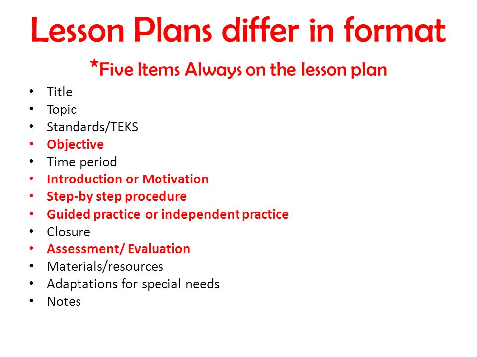 Planning Instruction. - ppt video online download