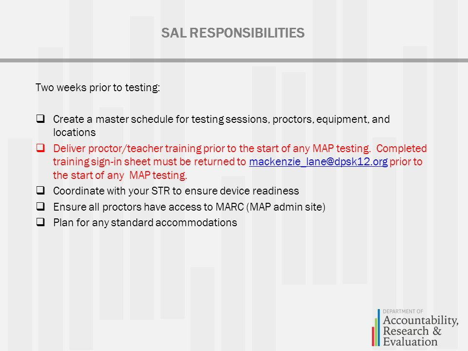 MAP SAL Training August 6, ppt download