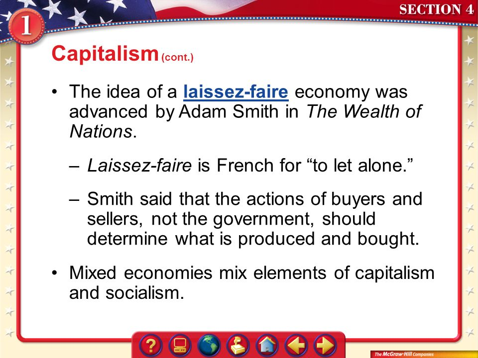 4 elements of capitalism