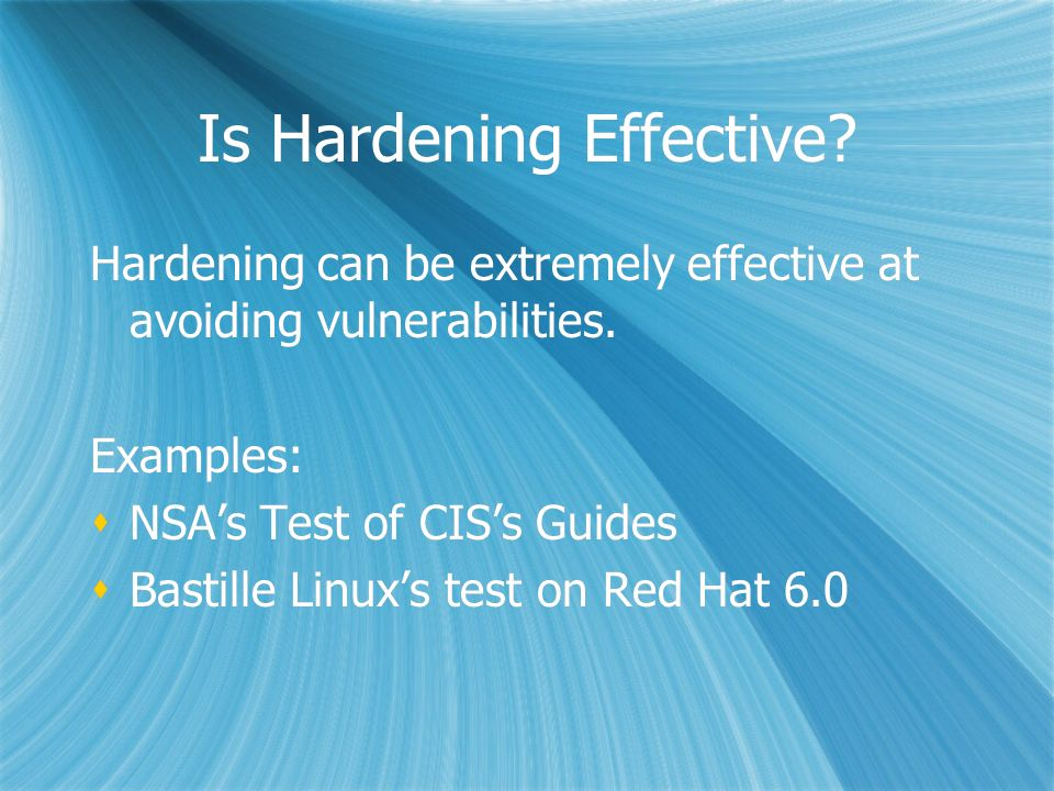 Introducing the Bastille Hardening Assessment Tool Linux