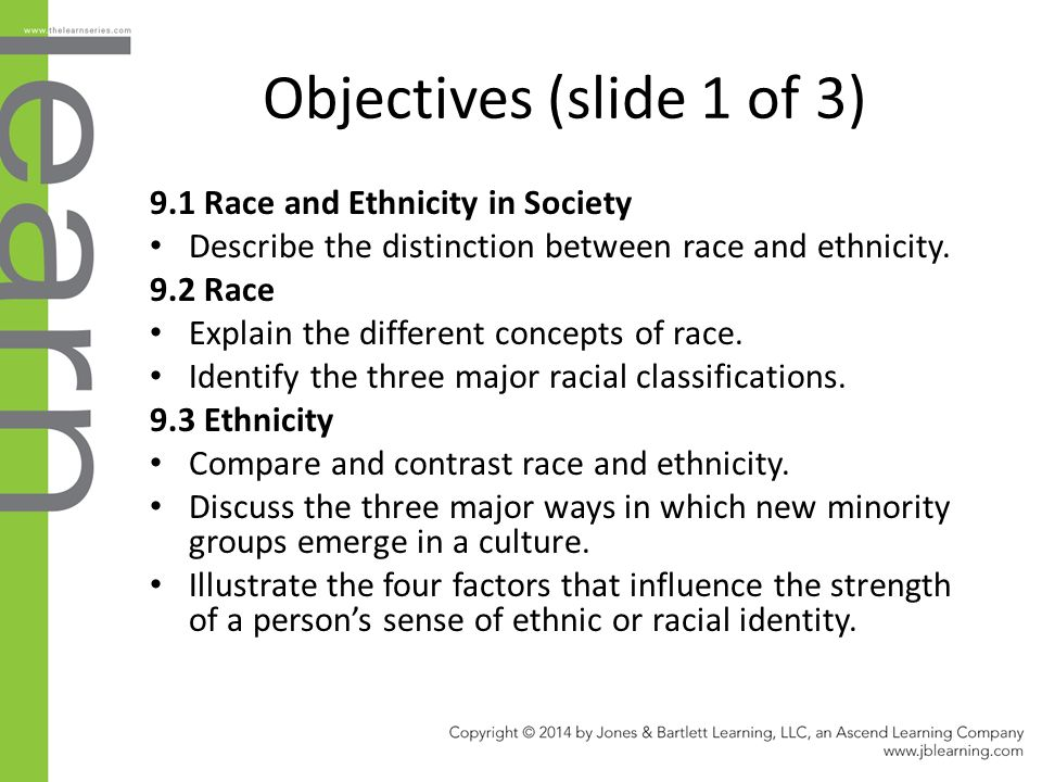 list of races and ethnicities