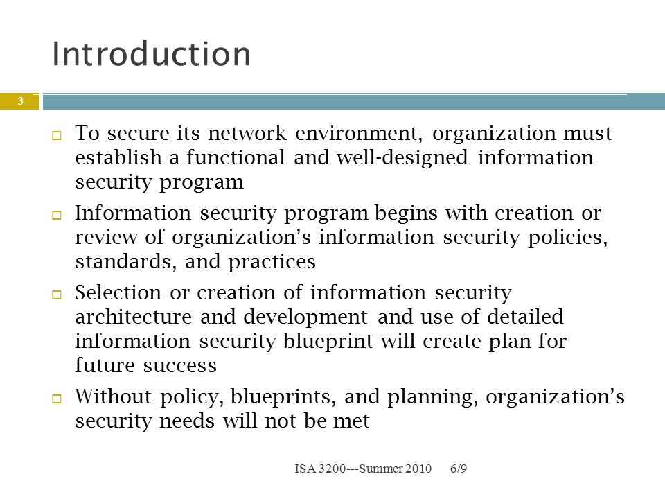 Chapter 3: Security Policies, Standards, and Planning - ppt download