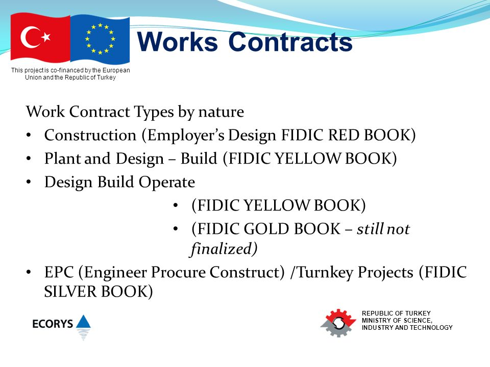Conditions Of Contract For Design Build And Operate Projects