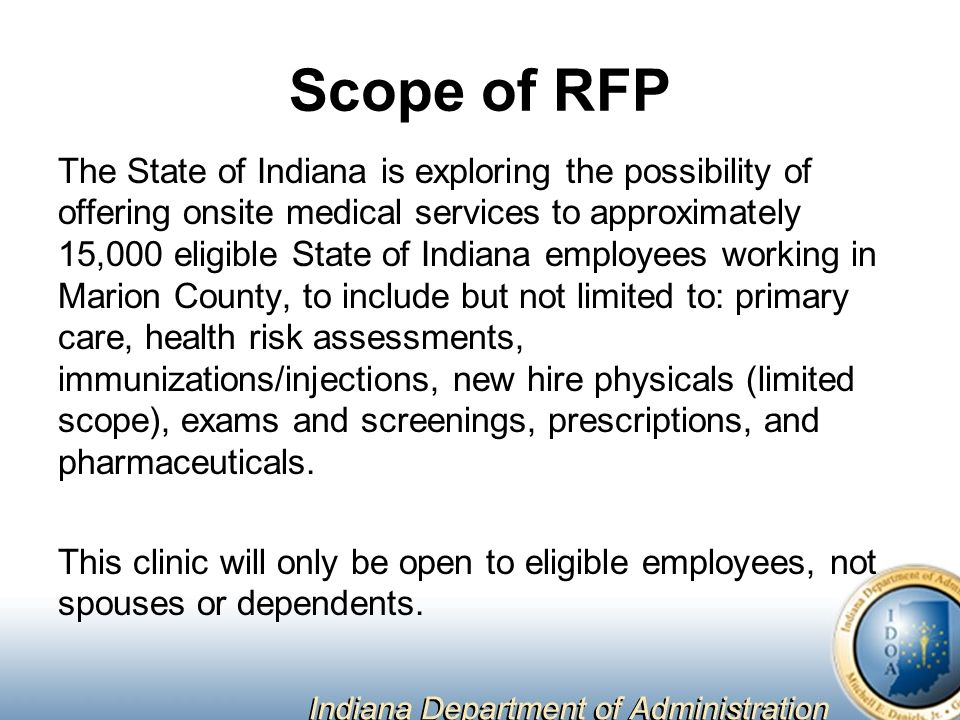 Onsite Clinic Development & Management Request for Proposal