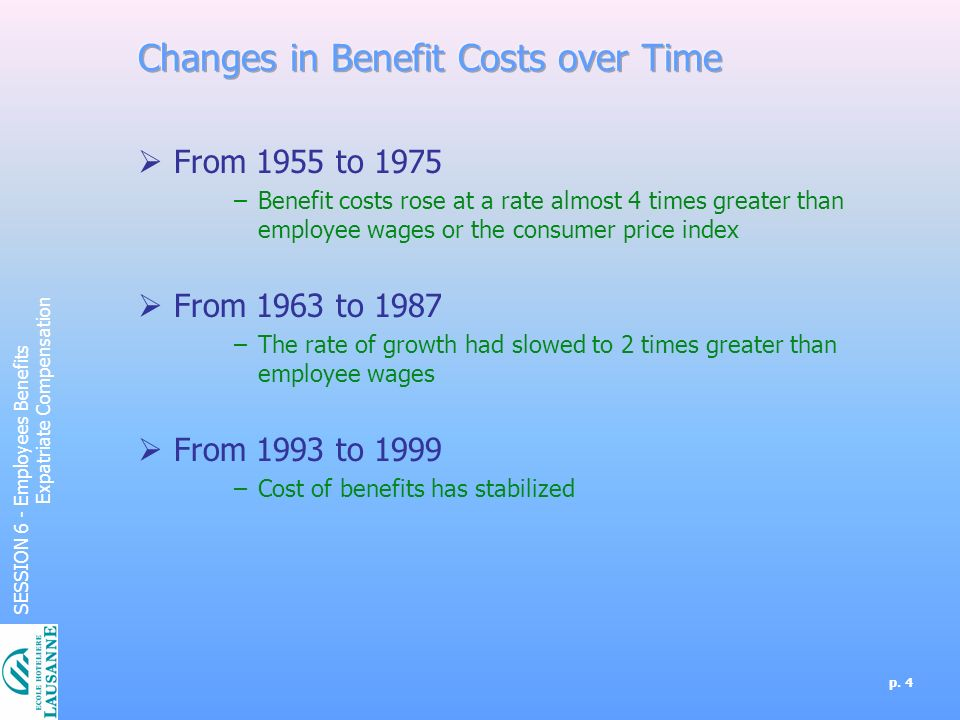 Employees Benefits Expatriate Compensation - ppt download