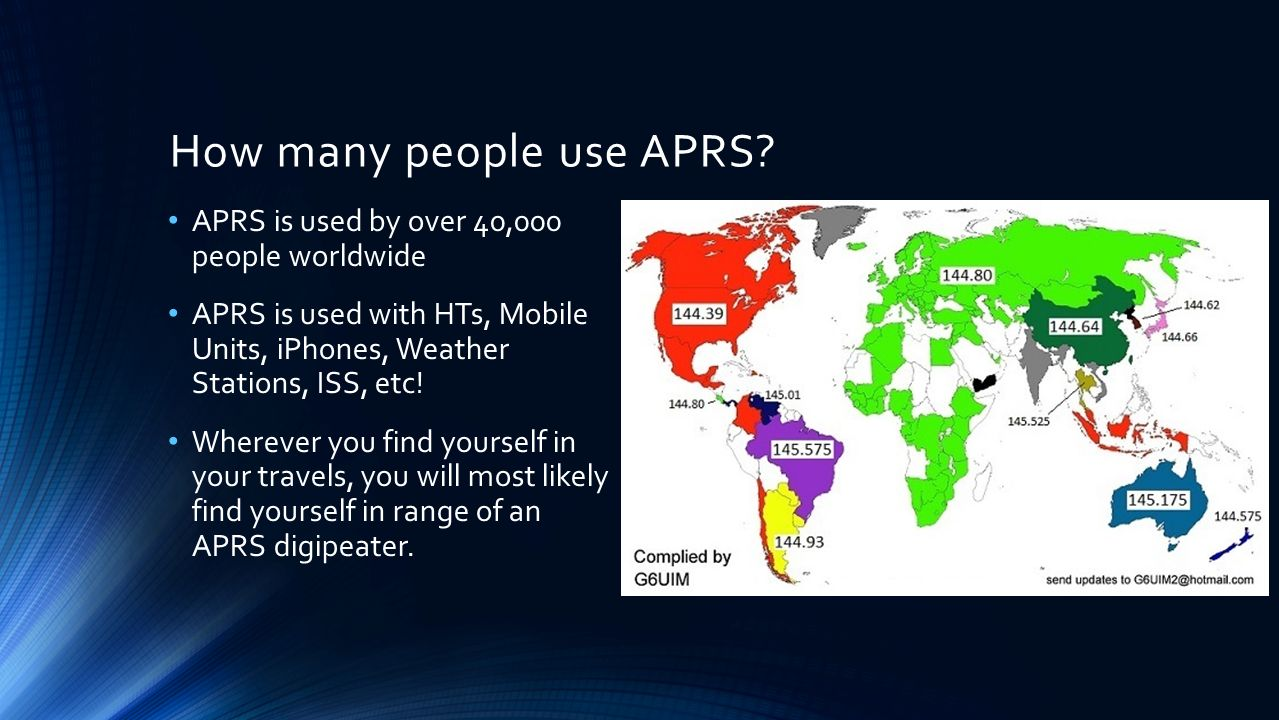 APRS: Automatic Packet Reporting System - ppt video online