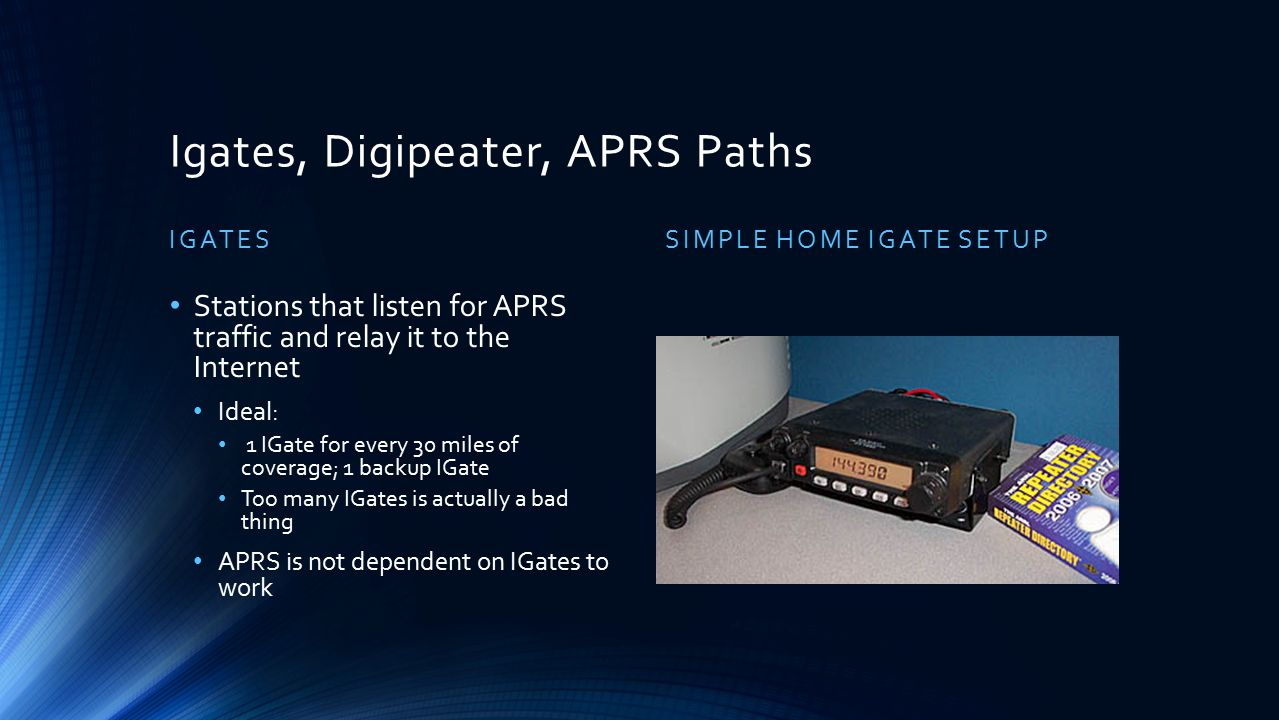 APRS: Automatic Packet Reporting System - ppt video online download