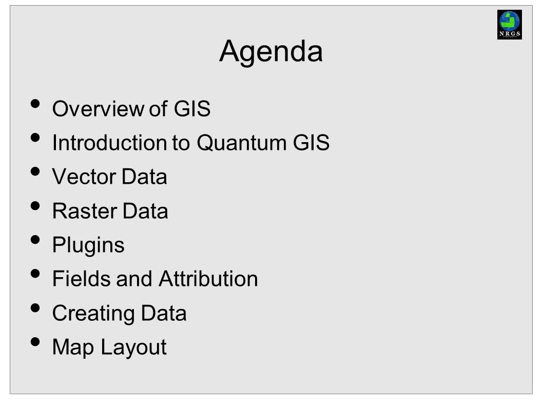 Introduction to Quantum GIS - ppt download