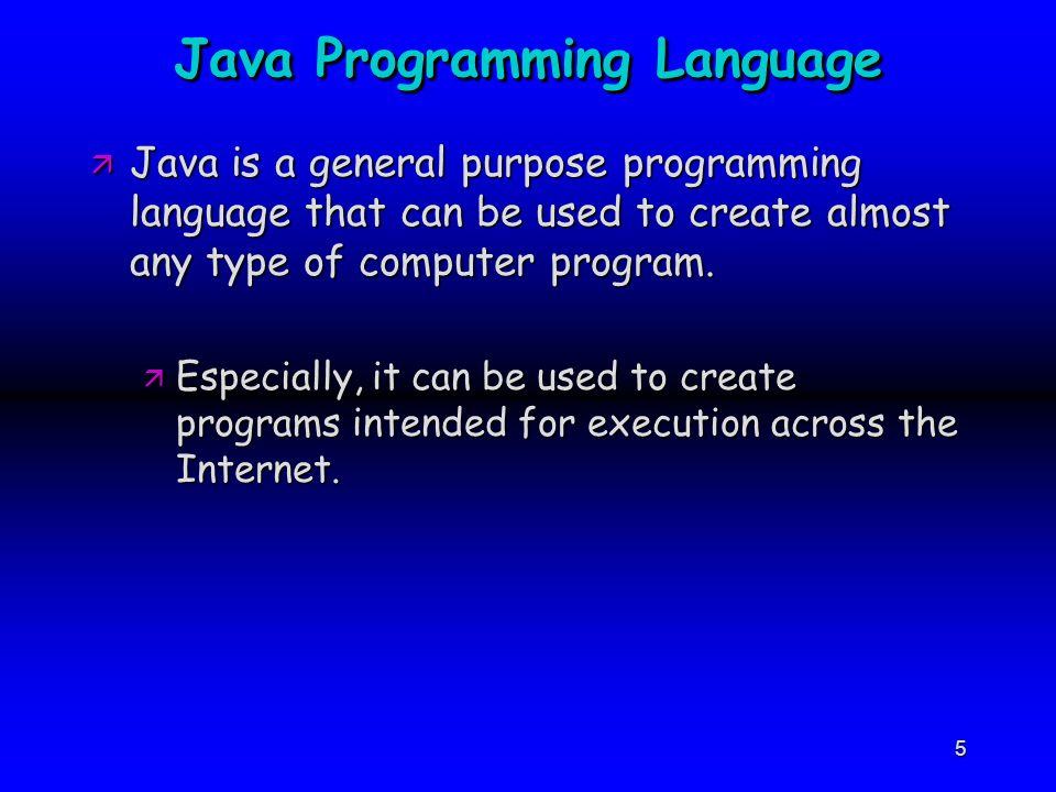 A BRIEF HISTORY OF OOP AND JAVA PROGRAMMING LANGUAGE