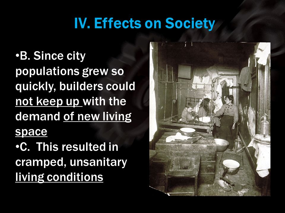 IV. Effects on Society Using your m62 template.
