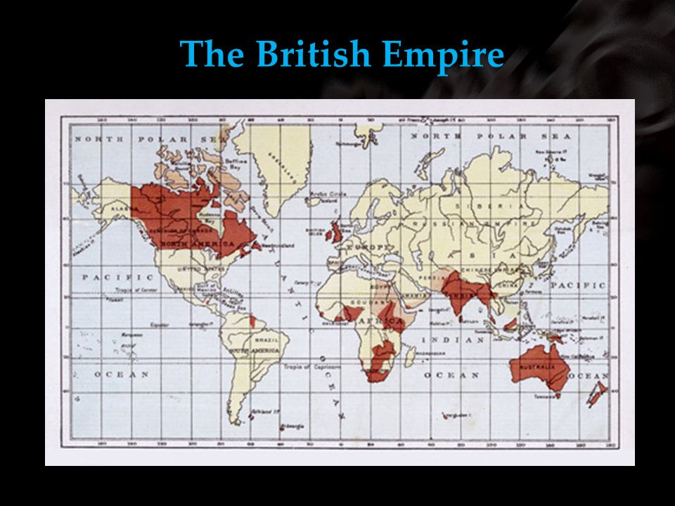 The British Empire Using your m62 template