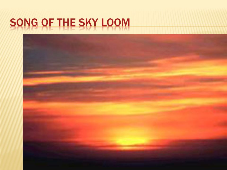 song of the sky loom