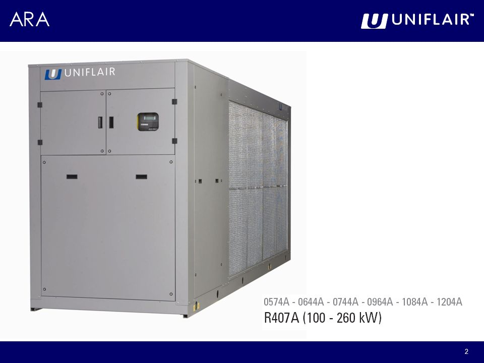 Uniflair ARA Range  - ppt video online download