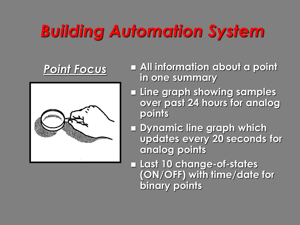 Building Automation System - ppt download
