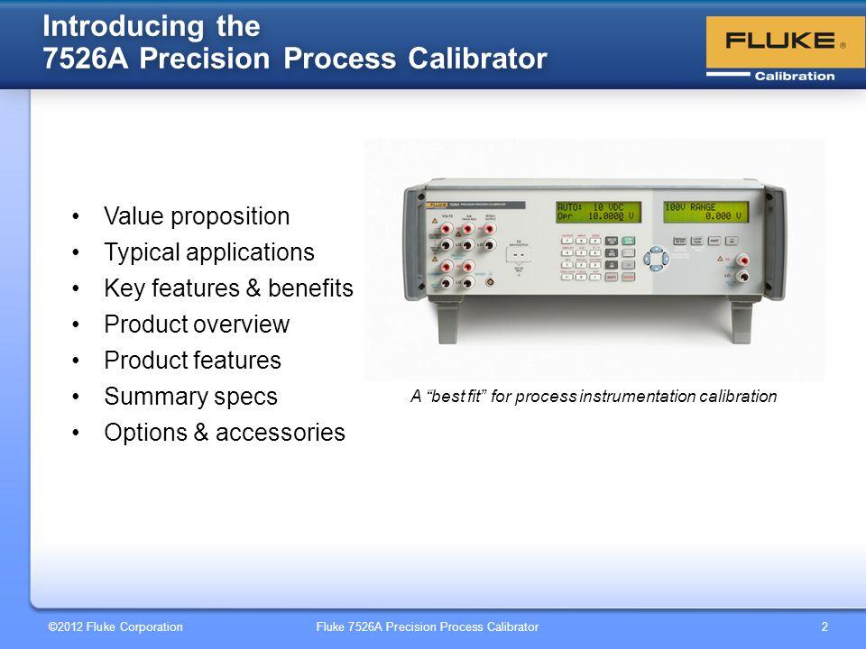 7526A Precision Temperature/Pressure Process Calibrator - ppt video