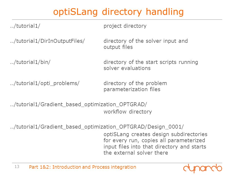 Part 1 Introduction to optiSLang - ppt download