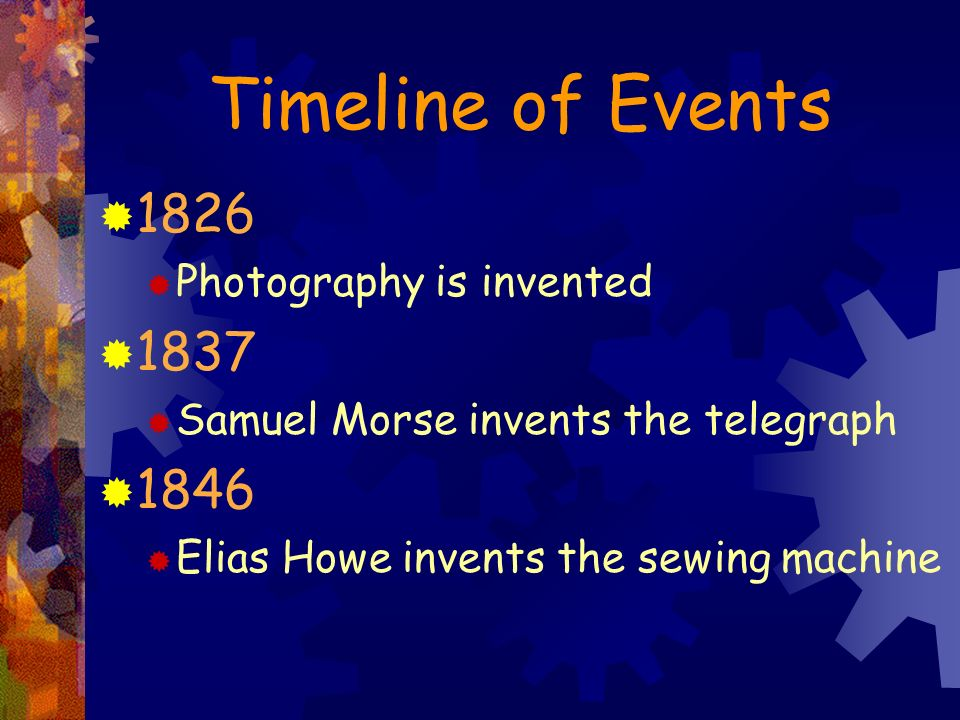 Industrialization Segregation Ppt Download New The Timeline Of The Sewing Machine