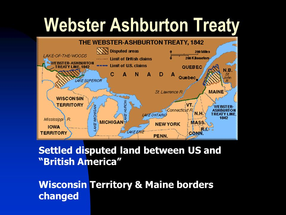webster ashburton treaty definition