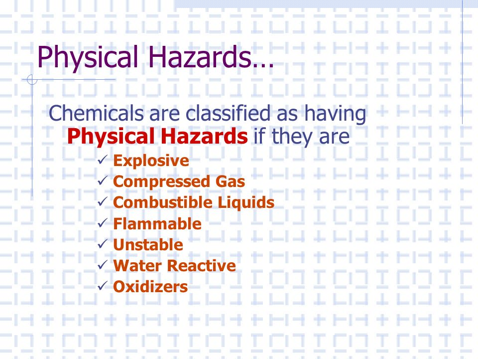 Hazard Communication & Chemical Safety - ppt video online download