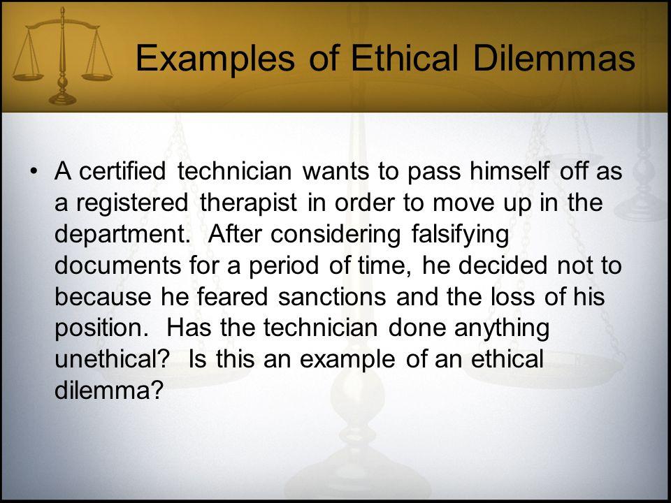 list of moral dilemmas
