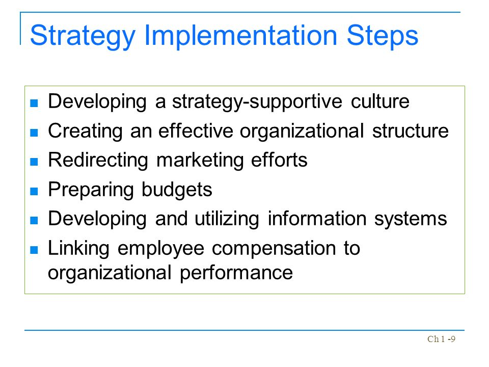 Energian Saasto—These Marketing Strategy Implementation Steps