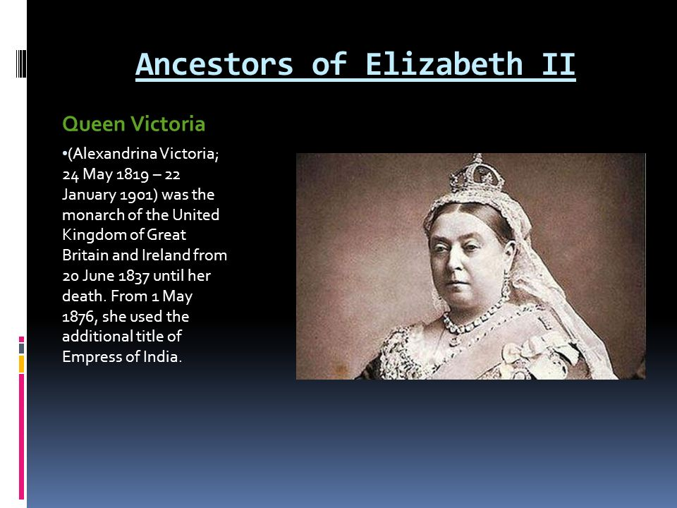 Queen Elizabeth II  - ppt video online download