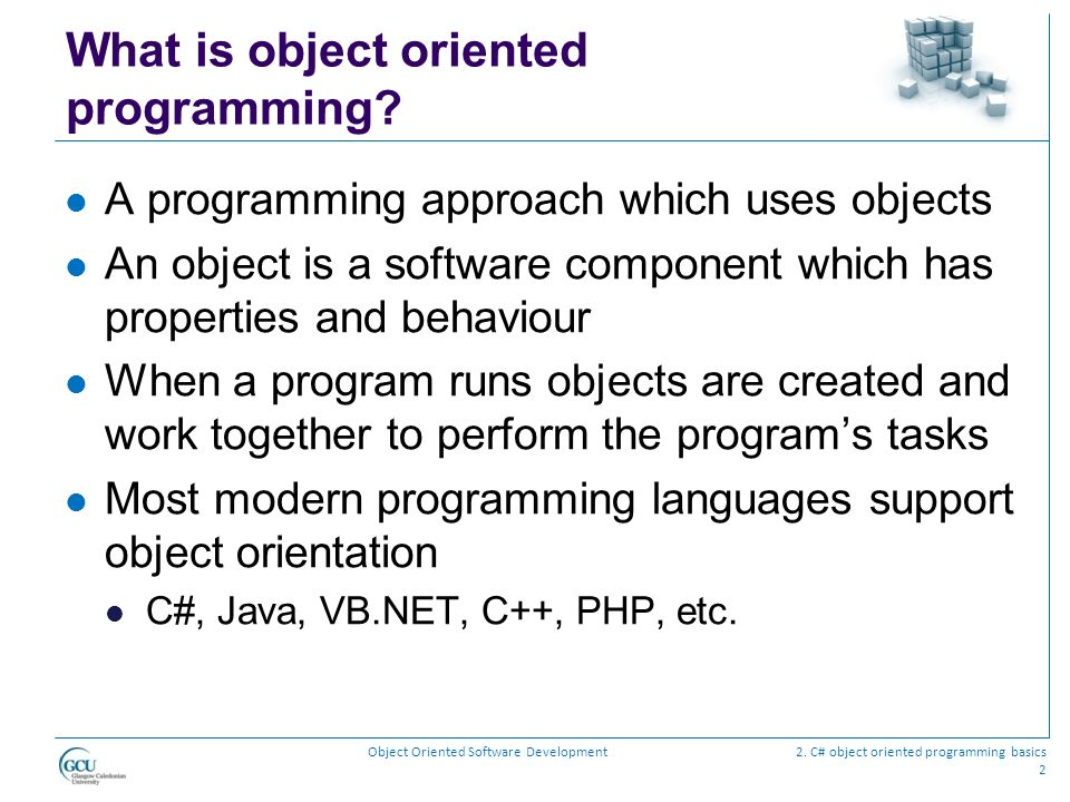 Object Oriented Software Development Ppt Download