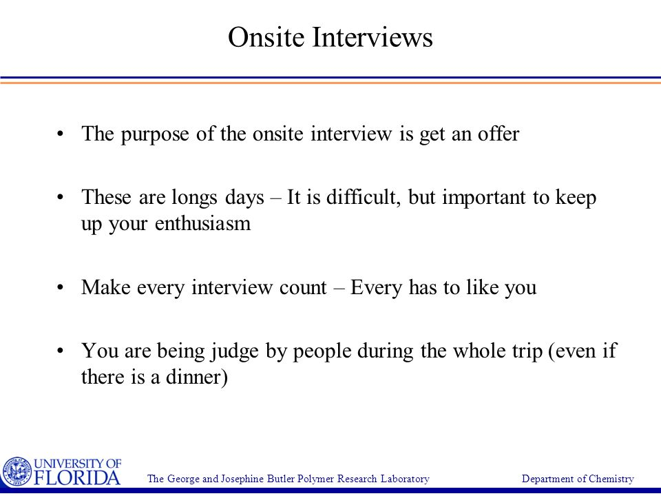 24 onsite interviews