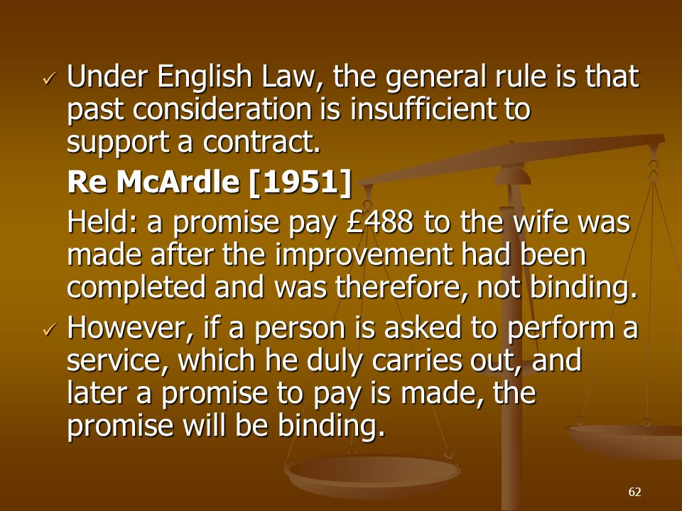 re mcardle 1951 case summary