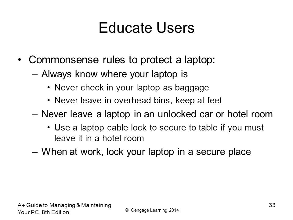 A+ Guide to Managing & Maintaining Your PC, 8th Edition - ppt video