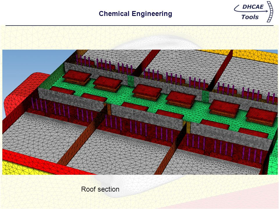 Chemical Engineering Roof section