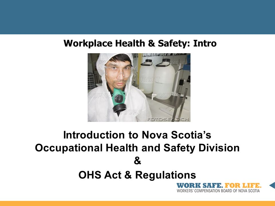 memo on the ohs act and regulation Safety act and regulations mine health and safety act and regulations explosive use acts and regulations summary convictions procedures note: if there is any difference between the versions of the statutes (laws) on this page and the versions on the governments of nunavut and the.