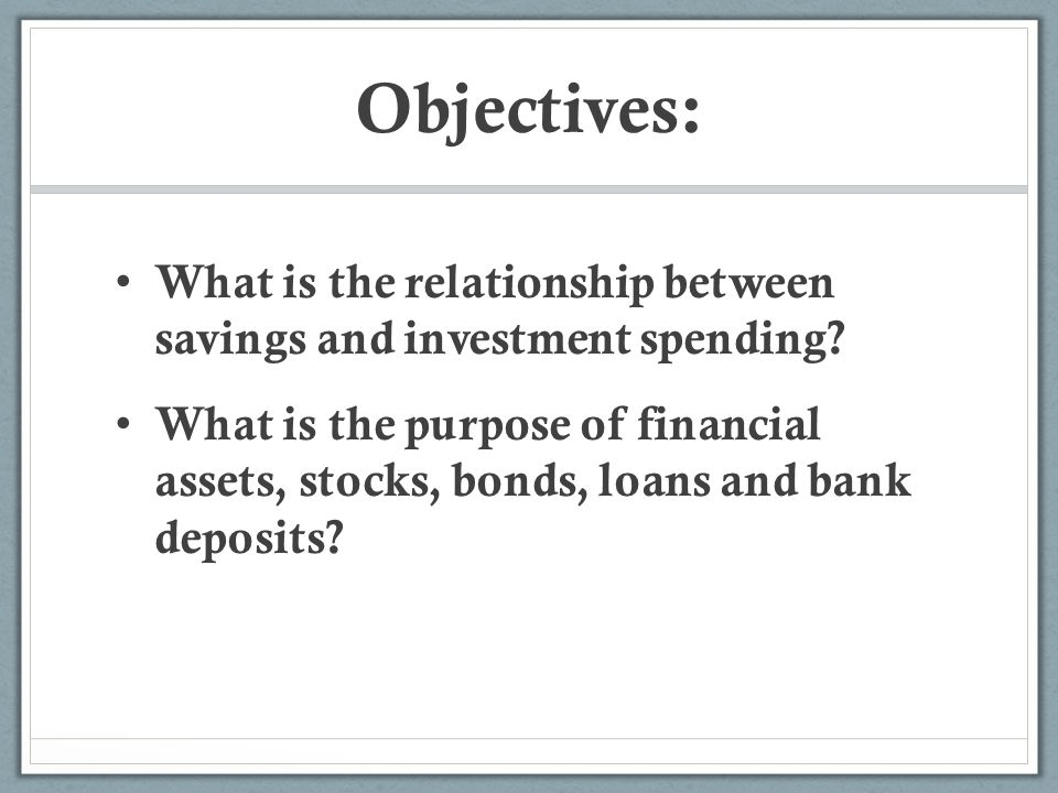 Saving investment and the financial system test 20 mark lavigne fidelity investments
