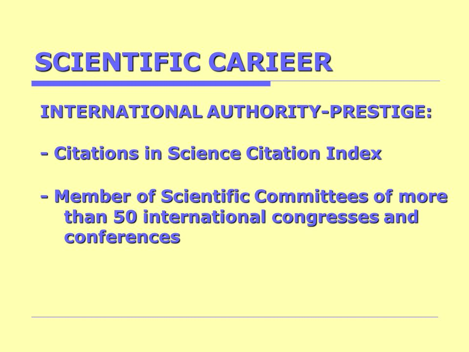 SCIENTIFIC CARIEER INTERNATIONAL AUTHORITY-PRESTIGE: