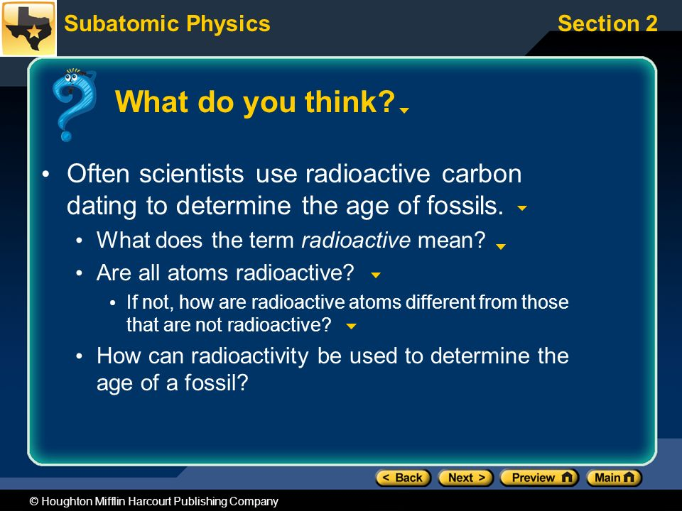 Other term for radioactive dating