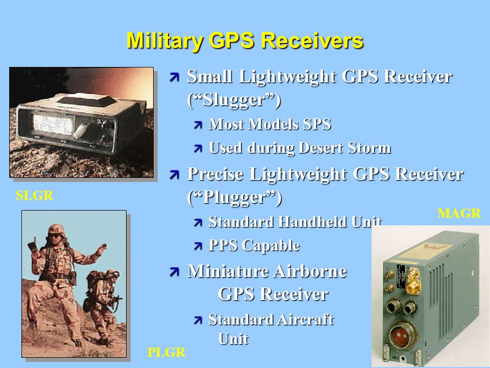 Military GPS Receivers
