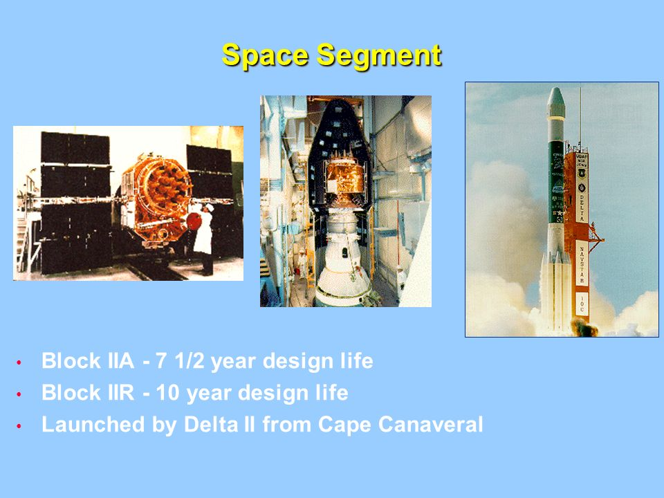 Space Segment Block IIA - 7 1/2 year design life